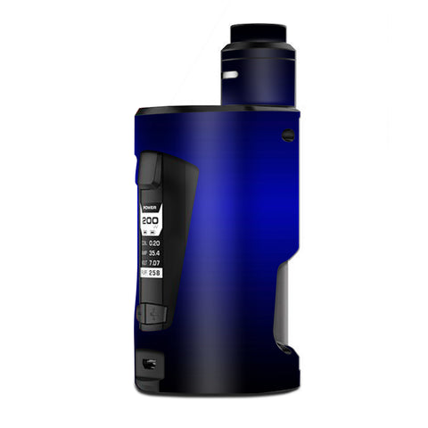 Electric Blue Glow Solid G Box Squonk Geek Vape Skin