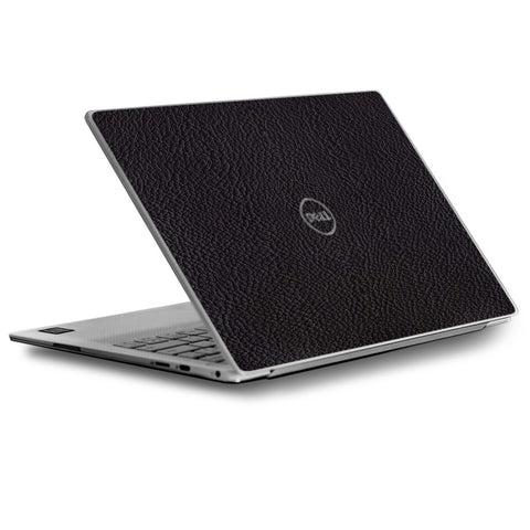 Black Leather Pattern Look Dell XPS 13 9370 9360 9350 Skin