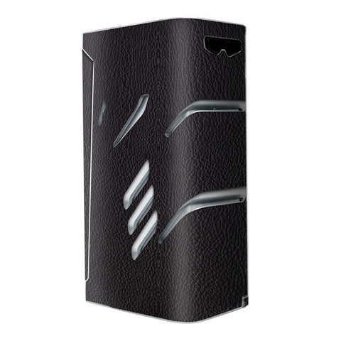 Black Leather Pattern Look Smok T-Priv Skin