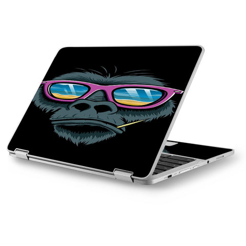 "Chimp Toothpick Sunglasses Asus Chromebook Flip 12.5"" Skin"