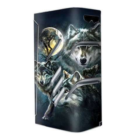 3 Wolves Moonlight Smok T-Priv Skin