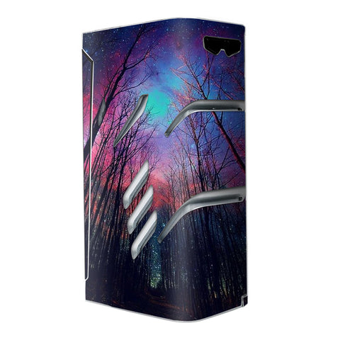 Galaxy Sky Through Trees Forest Smok T-Priv Skin