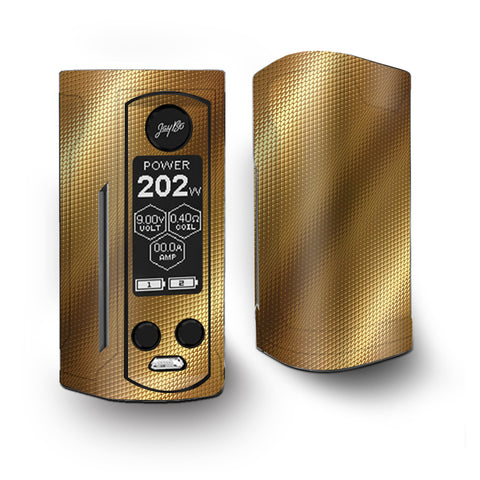 Gold Pattern Shiney Vaporesso Armour Kit Skin