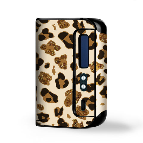 Brown Leopard Skin Pattern Smok Osub King Skin