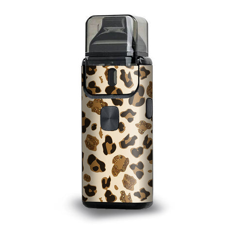 Brown Leopard Skin Pattern Aspire Breeze 2 Skin