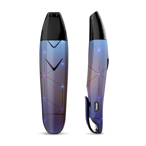 Skin Decal for Suorin Vagon  Vape / Vector Weird Digital Glass