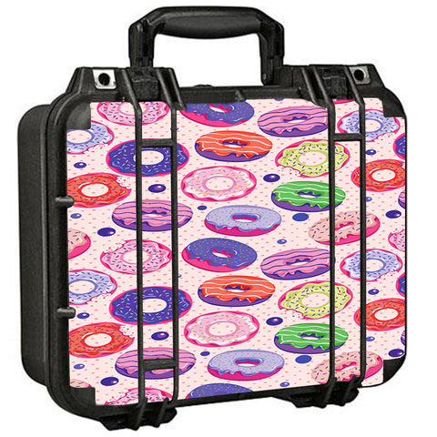 Yummy Donuts Doughnuts Pink Pelican Case 1400 Skin