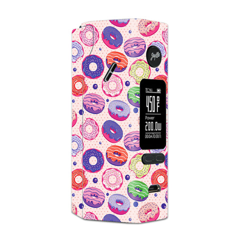 Yummy Donuts Doughnuts Pink Wismec Reuleaux RX 2/3 combo kit Skin