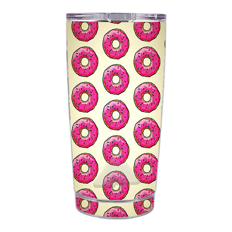 Skin Decal For Ozark Trail 20 Oz Pink Sprinkles Donuts Ozark Trail 20oz Tumbler Skin