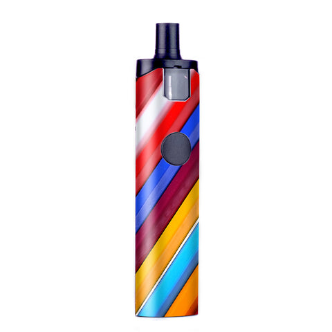 Color Stripes Pattern Wismec Motiv Pod Skin