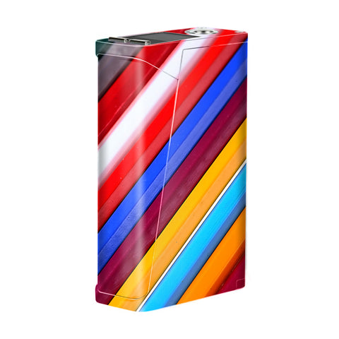 Color Stripes Pattern Smok H-Priv Skin