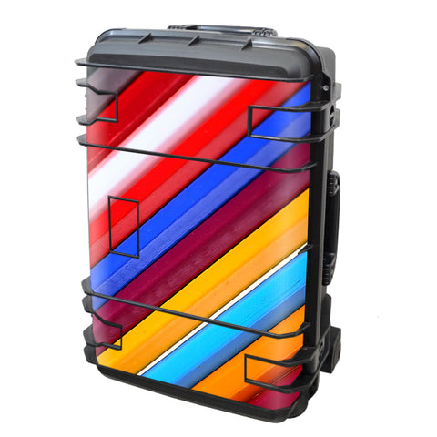 Color Stripes Pattern Seahorse Case Se-920 Skin