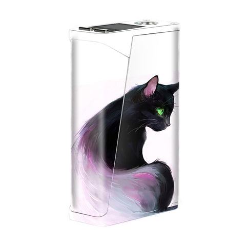Siamese Cat Green Eyes Smok H-Priv Skin
