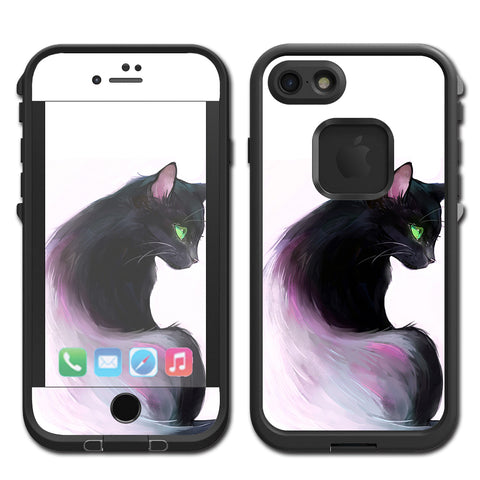 Siamese Cat Green Eyes Lifeproof Fre iPhone 7 or iPhone 8 Skin