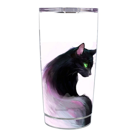 Skin Decal For Ozark Trail 20 Oz Siamese Cat Green Eyes Ozark Trail 20oz Tumbler Skin