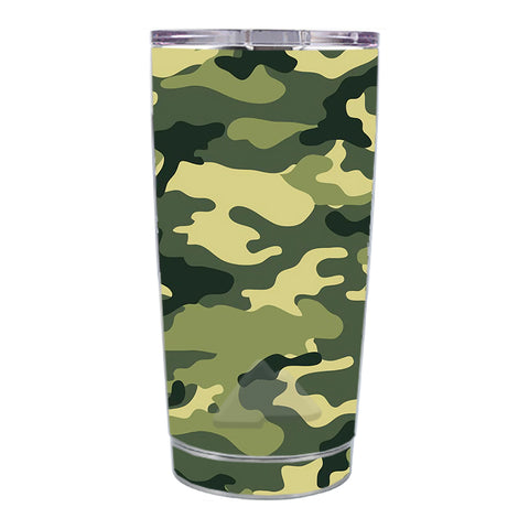 Skin Decal For Ozark Trail 20 Oz Green Camo Original Camouflage Ozark Trail 20oz Tumbler Skin