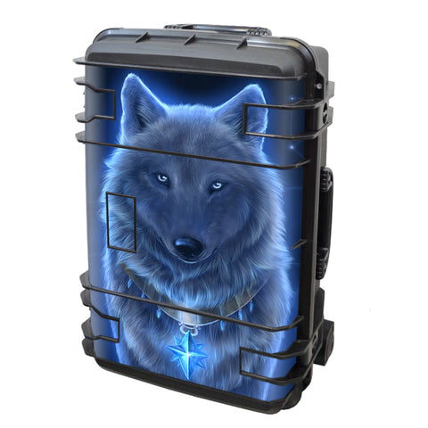 Glowing Celestial Wolf Seahorse Case Se-920 Skin