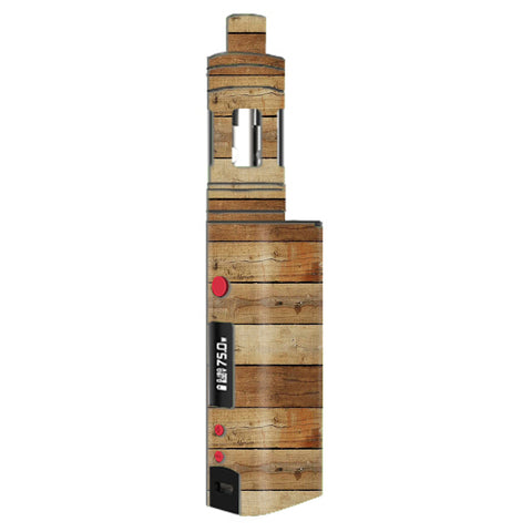 Wood Panels Plank Kangertech Topbox mini Skin