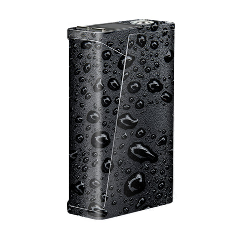 Rain Drops On Black Metal Smok H-Priv Skin