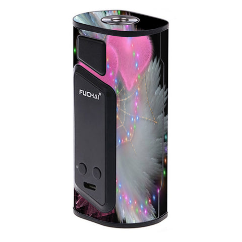 Mystic Pink Hearts Feathers Sigelei Fuchai Duo-3 Skin