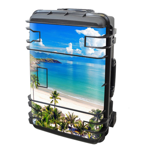 Tropical Paradise Palm Trees Seahorse Case Se-920 Skin