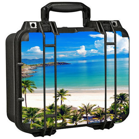 Tropical Paradise Palm Trees Pelican Case 1400 Skin