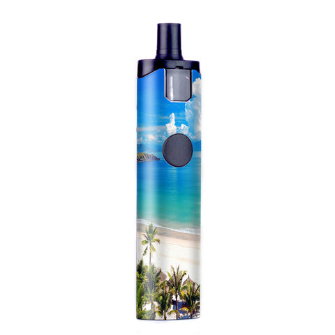 Tropical Paradise Palm Trees Wismec Motiv Pod Skin