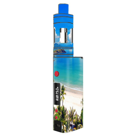 Tropical Paradise Palm Trees Kangertech Topbox mini Skin