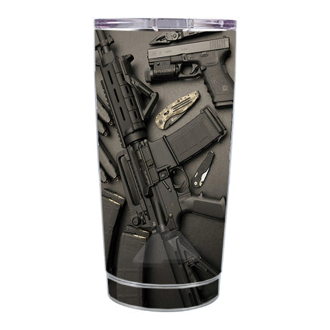 Skin Decal For Ozark Trail 20 Oz Edc Ar Pistol Gun Knife Military Ozark Trail 20oz Tumbler Skin