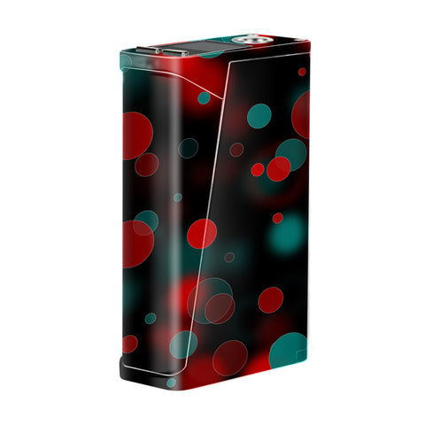 Red Blue Circles Dots Vision Smok H-Priv Skin