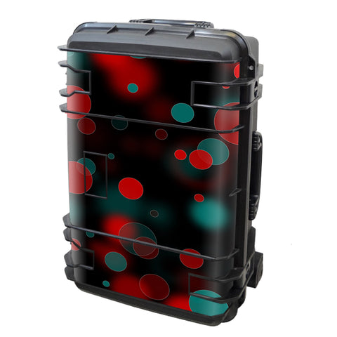 Red Blue Circles Dots Vision Seahorse Case Se-920 Skin