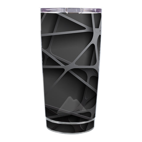 Skin Decal For Ozark Trail 20 Oz Black Metal Web Panels Ozark Trail 20oz Tumbler Skin