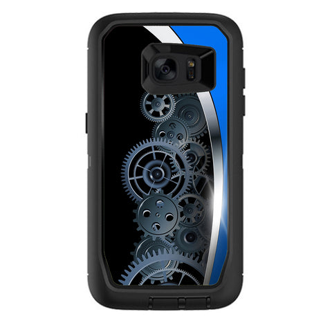 Mechanical Gears Motion Otterbox Defender Samsung Galaxy S7 Edge Skin
