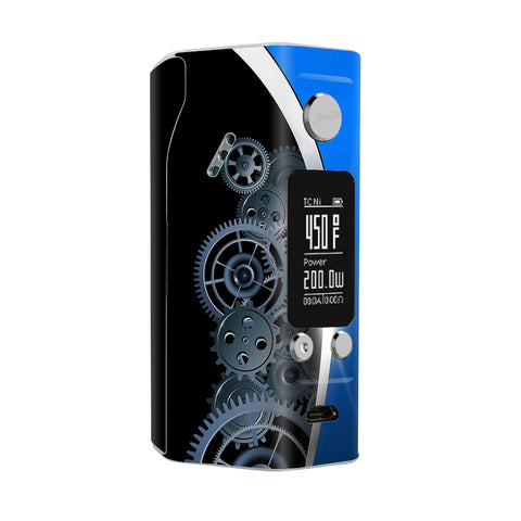 Mechanical Gears Motion Wismec Reuleaux RX200S Skin