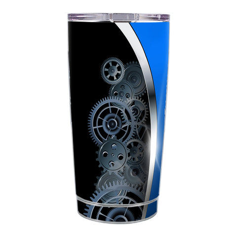 Skin Decal For Ozark Trail 20 Oz Mechanical Gears Motion Ozark Trail 20oz Tumbler Skin
