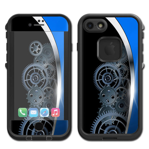 Mechanical Gears Motion Lifeproof Fre iPhone 7 or iPhone 8 Skin