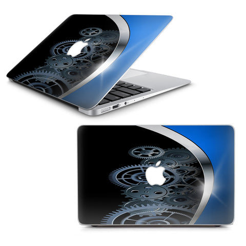 "Mechanical Gears Motion Macbook Air 13"" A1369 A1466 Skin"