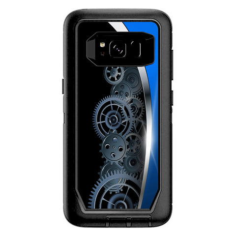 Mechanical Gears Motion Otterbox Defender Samsung Galaxy S8 Skin