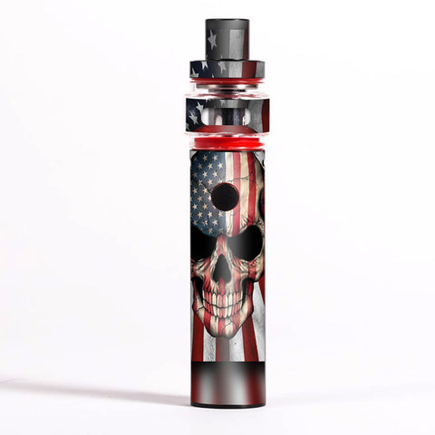 America Skull Military Usa Murica Smok Pen 22 Light Edition Skin