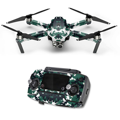 Digital Camo New York Jets DJI Mavic Pro Skin