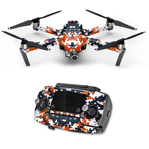 Digital Camo Chicago Bears DJI Mavic Pro Skin
