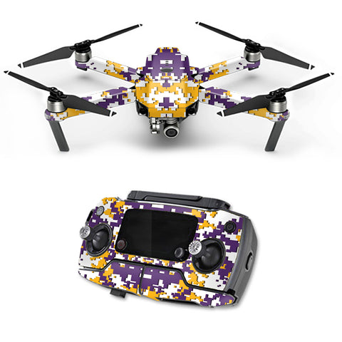 Digital Camo Seattle Seahawks DJI Mavic Pro Skin