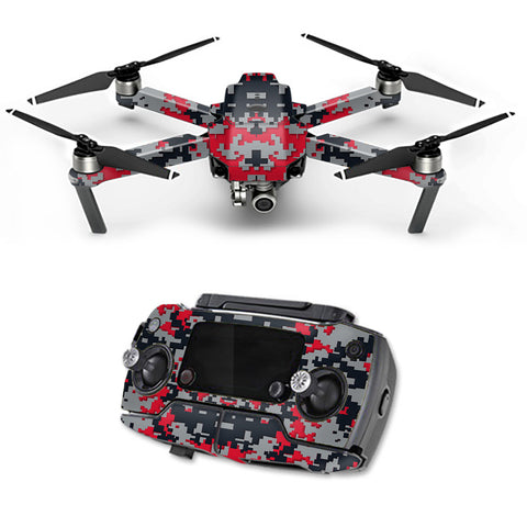 Digital Camo Atlanta Falcons DJI Mavic Pro Skin
