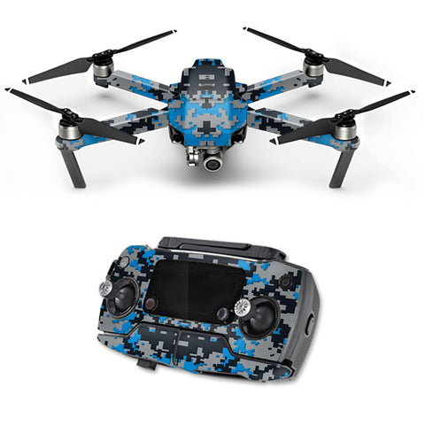 Digital Camo Carolina Panthers DJI Mavic Pro Skin