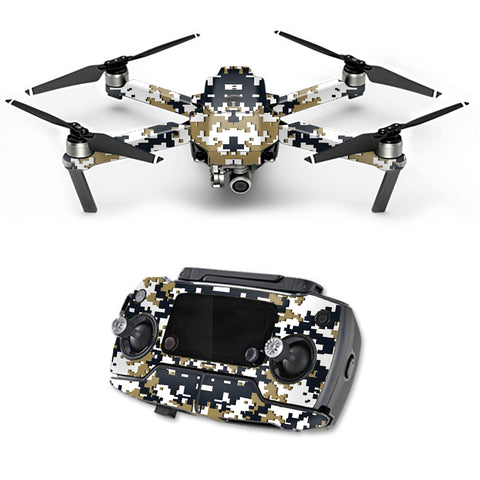 Digital Camo New Orleans Saints DJI Mavic Pro Skin