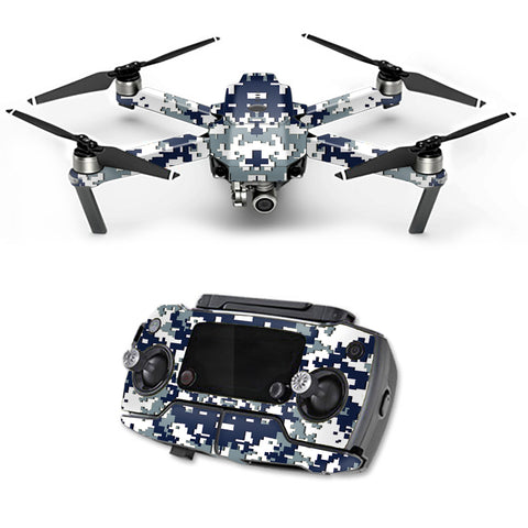 Digital Camo Dallas Cowboys DJI Mavic Pro Skin