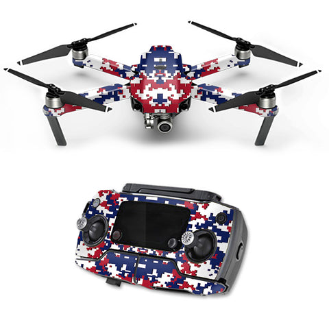 Digital Camo New York Giants DJI Mavic Pro Skin