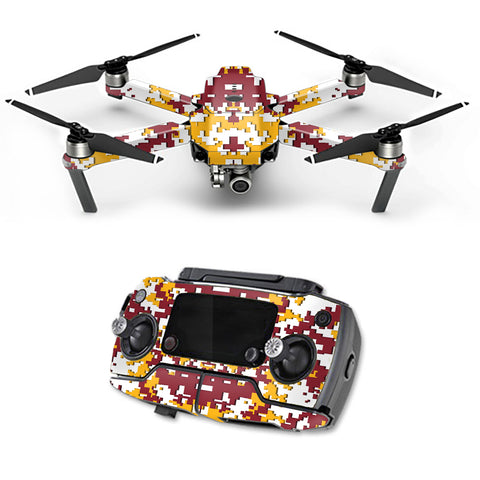 Digital Camo Washington Redskins DJI Mavic Pro Skin
