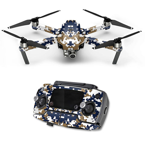 6dd05b10c31 Digital Camo Los Angeles Rams DJI Mavic Pro Skin