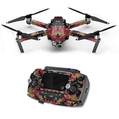 Digital Camo San Francisco 49Ers DJI Mavic Pro Skin